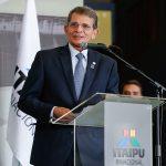 Bolsonaro participa da posse do diretor-geral da Itaipu Binacional